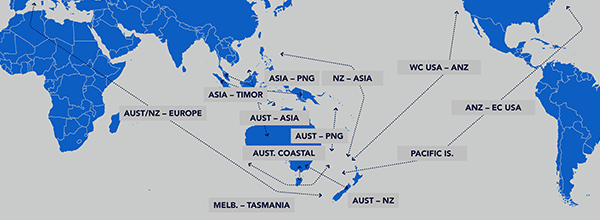 ANL Services: extensive coverage throughout Oceania, Asia, Europe ...